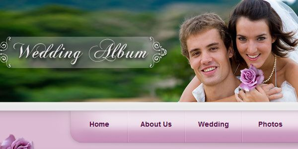 20 Free Wedding Website Templates