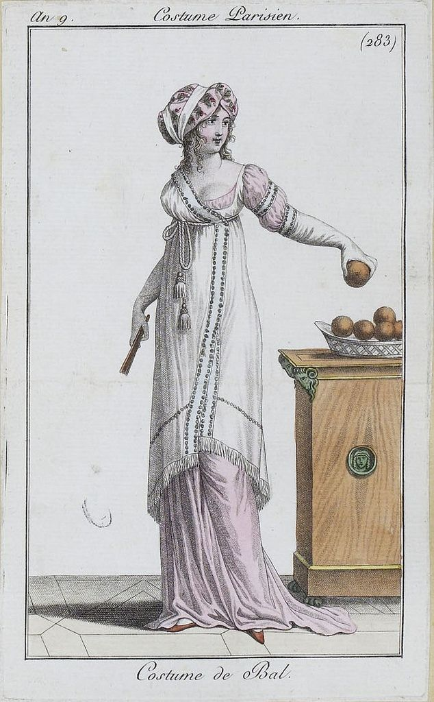 an 9 1801 costumes parisiens, SceneInThePast