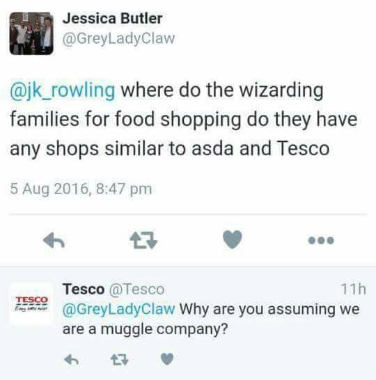 Ha ha that made my day  I'm asking my mum to shop there is wanna eat wizard food