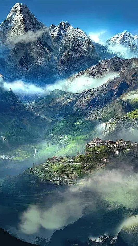 Himalaya. Népal.