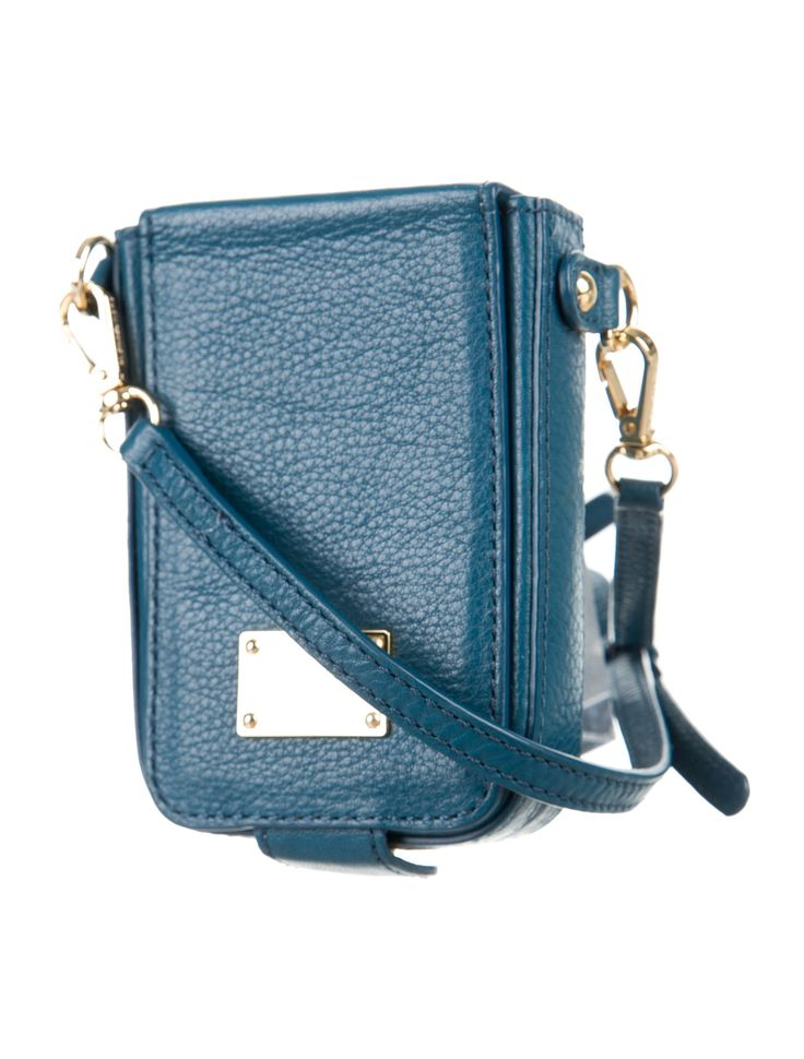 Leather Cell Phone Crossbody Bag