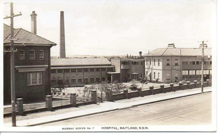 Maitland Hospital in New South Wales (year unknown).
