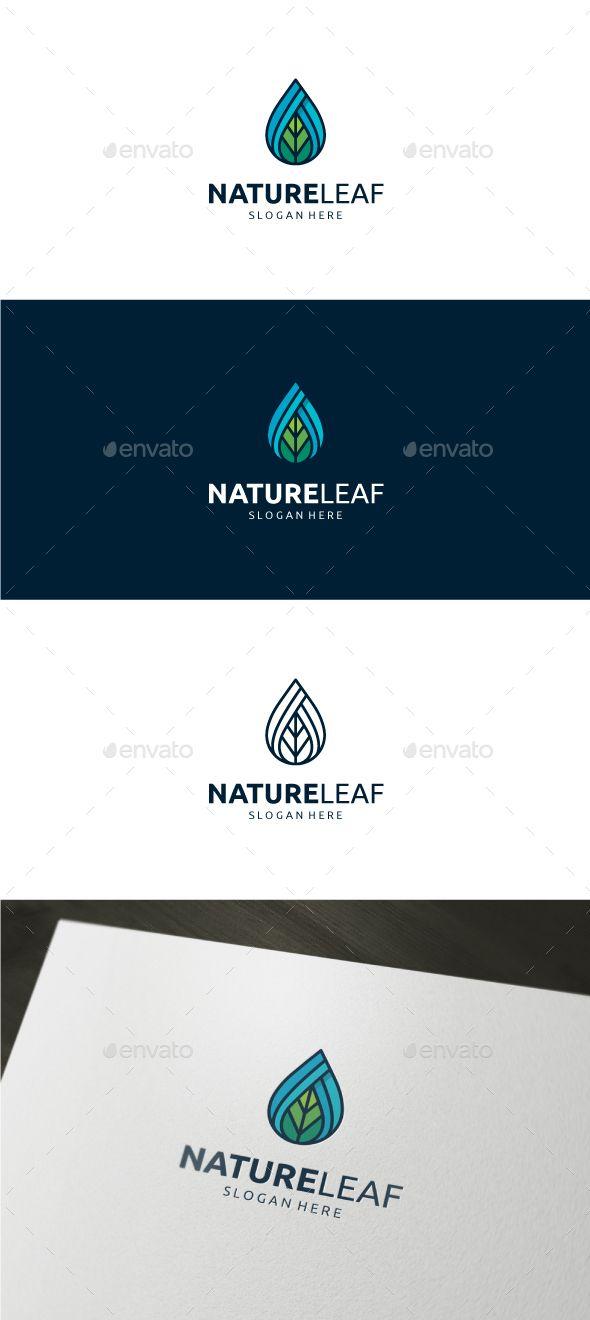 Nature Leaf Logo 945 best LOGO