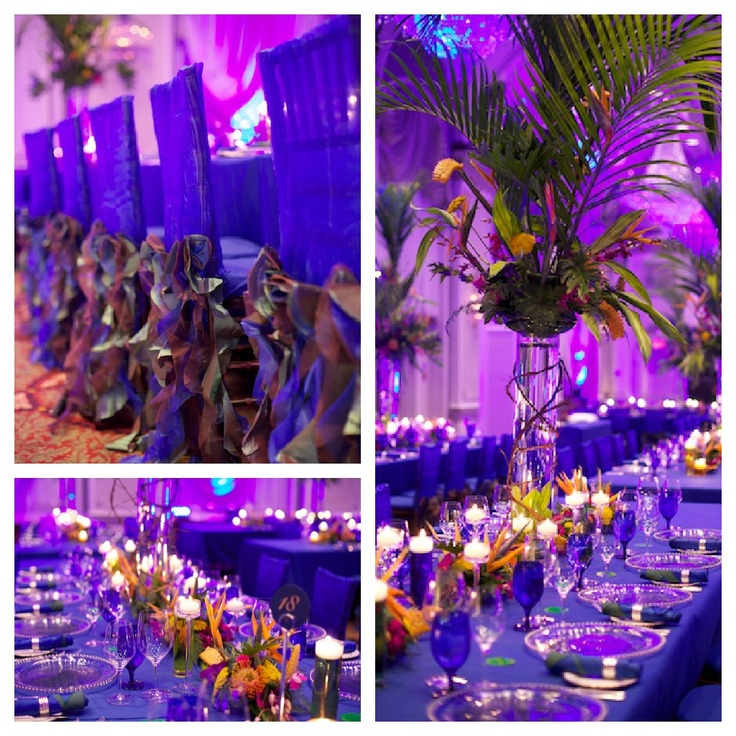 Brazilian wedding decor. Exotic design by KA Mariage.