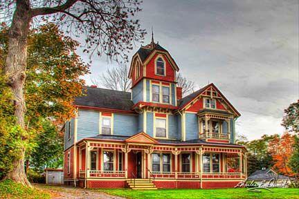 The Shand House in Windsor, Nova Scotia.