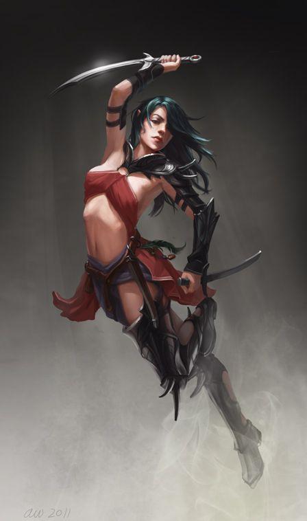 serie guerreros fantasticos 3