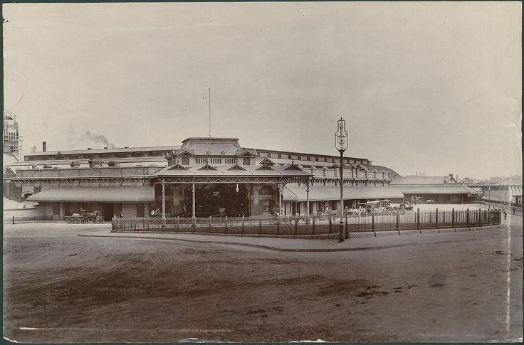 Adelaide Railway Station, North Terrace, 1905