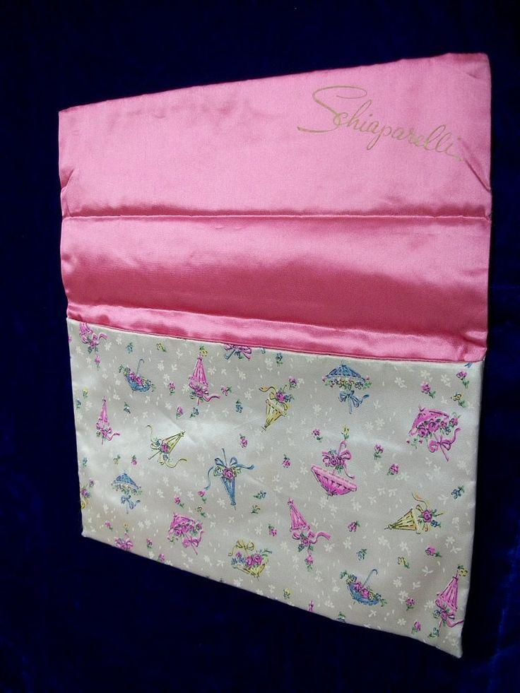 Vintage Schiaparelli Stocking Lingerie Bag . by ClubVintage