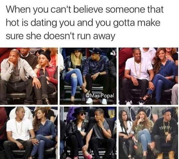 19 Silly Dating Memes To Send To Your Crush Beyonce Funny Beyonce Memes Funny Relationship