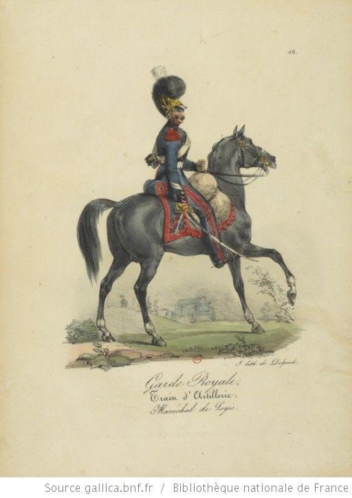 [Maison du Roi et garde royale de Louis XVIII, 1817.] / Ch. Aubry - 17