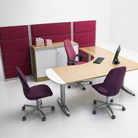 SERIES[T] The T series is equally suitable for workplaces and for meetings, conferences and break rooms.