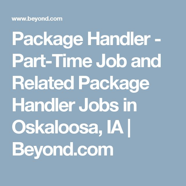 Package Handler  PartTime Job And Related Package Handler Jobs