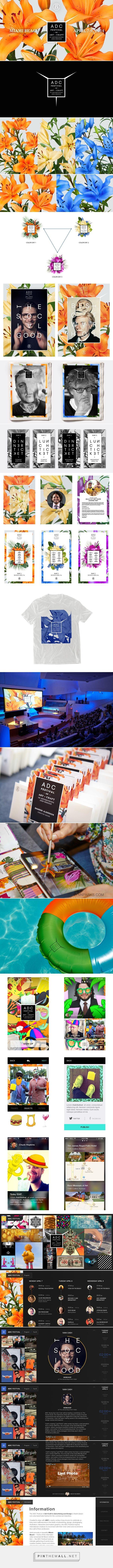Art Directors Club Festival Campaign on Behance