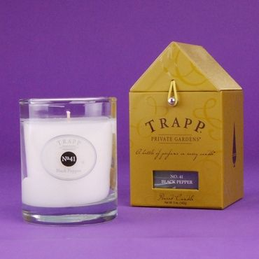 Trapp black pepper candle no. 41