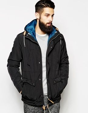 ASOS 2 In 1 Hooded Parka