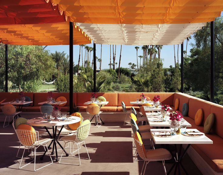 Norma's restaurant, Palm Springs | What to see, wear and do at Coachella MATCHESFASHION.COM #MATCHESFASHION