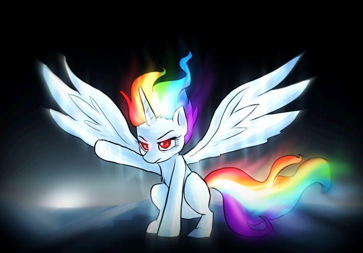 Princess Rainbow Dash she looks awesome