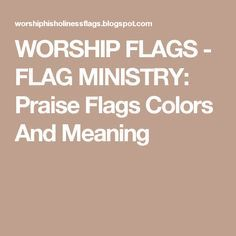 flag colors meanings