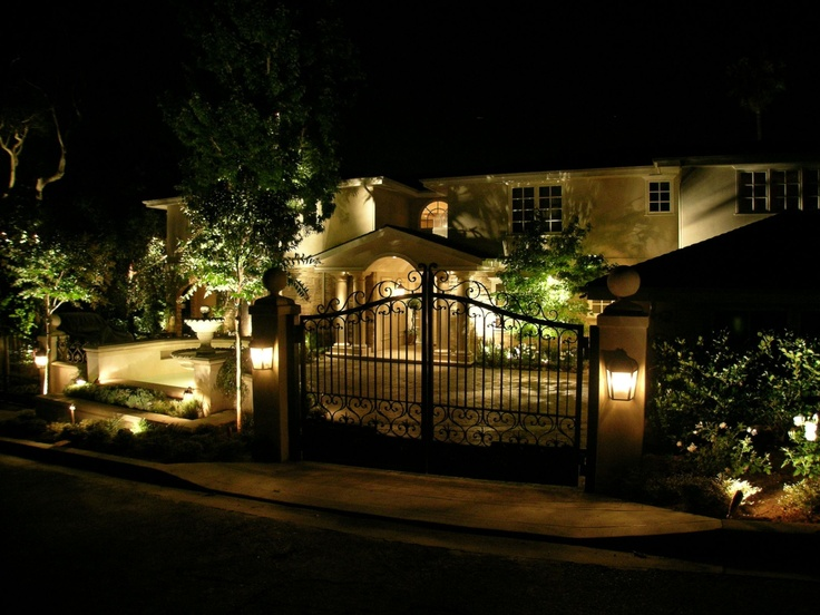 artistic outdoor lighting. a home i illuminated in belair ca for landscape lighting quote call mark at artistic illumination outdoor l