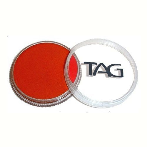 TAG Face Paints - Red (32 gm) by TAG Body Art. $6.47. Great for line work. TAG face paint is hypoallergenic and made with non-toxic, skin safe ingredients.. Each 32 gram TAG Face Paint Container is good for 50-200 applications.. TAG Face Paint is very easy to blend, soft on the skin and does not crack or peel.. TAG Red Face Paint is very easy to blend, soft on the skin and does not crack or peel. Most of TAGs face painting colors are great for line work and li...