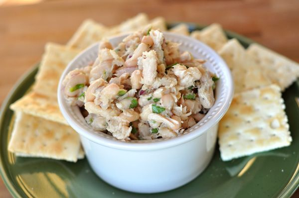 White Bean & Tuna Salad: RED ONION, TUNA, LEMON JUICE & ZEST, WHITE ...
