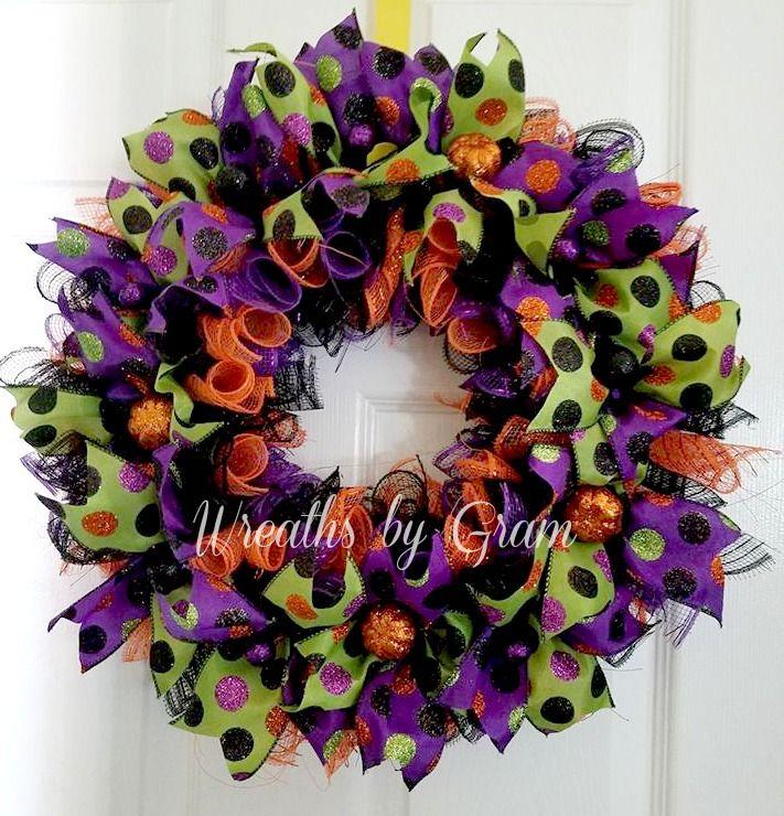Halloween Wreath   Halloween Decor   Fall Wreath   Halloween Decoration   Front Door Wreath   Whimsical Wreath   Halloween Door Wreath;  HALLOWEEN PARTY; HALLOWEEN WREATHS FOR FRONT DOOR; HALLOWEEN WREATH IDEAS; AUTUMN WREATHS; HOLIDAY WREATHS; HALLOWEEN GIFTS; HALLOWEEN IDEAS; FALL DECORATING; FALL PORCH DECORATING; FALL DECORATIONS  #halloween #wreaths #seasonaldecor #fallporch