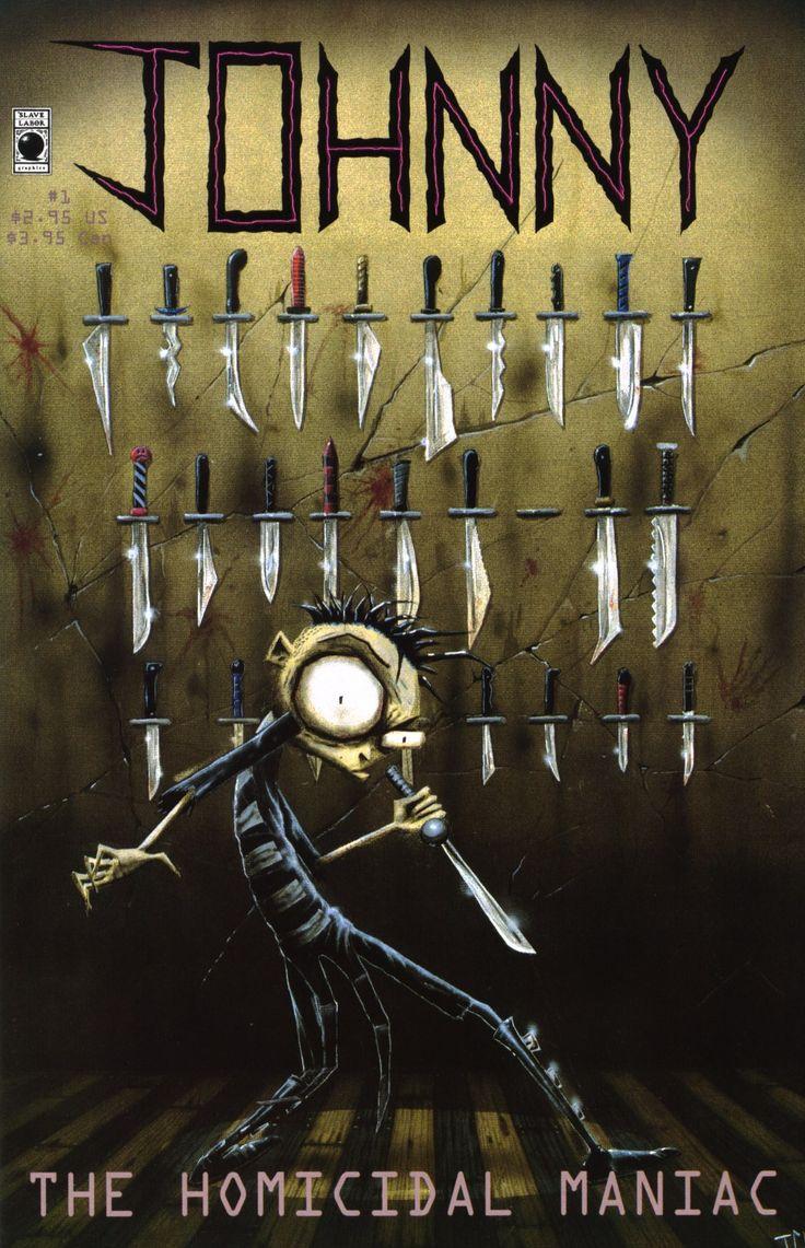 ~ Johnny the Homicidal Maniac Comic | Books Worth Reading ...