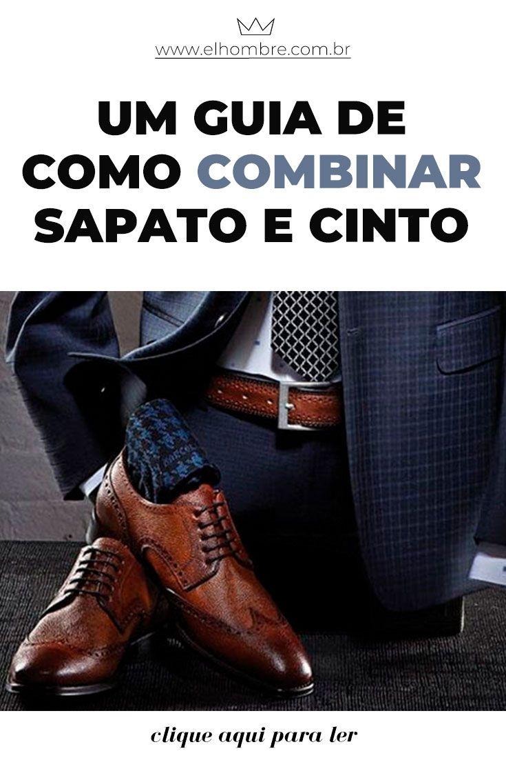 Um guia de como combinar sapato e cinto  f3294db7f73