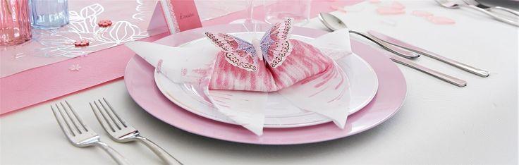 Servetten vouwen: de grote vlinder   AVA