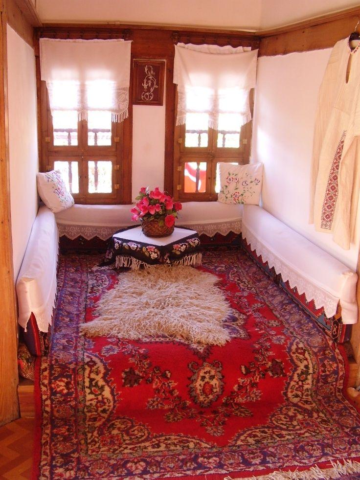 Türk geleneksel ev, Turkish traditional home, Safranbolu,Türkiye