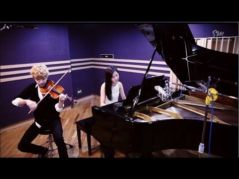 Henry 헨리_Playing 'TRAP' Violin & Piano ver. with SeoHyun 서현 of Girls' Generation - YouTube