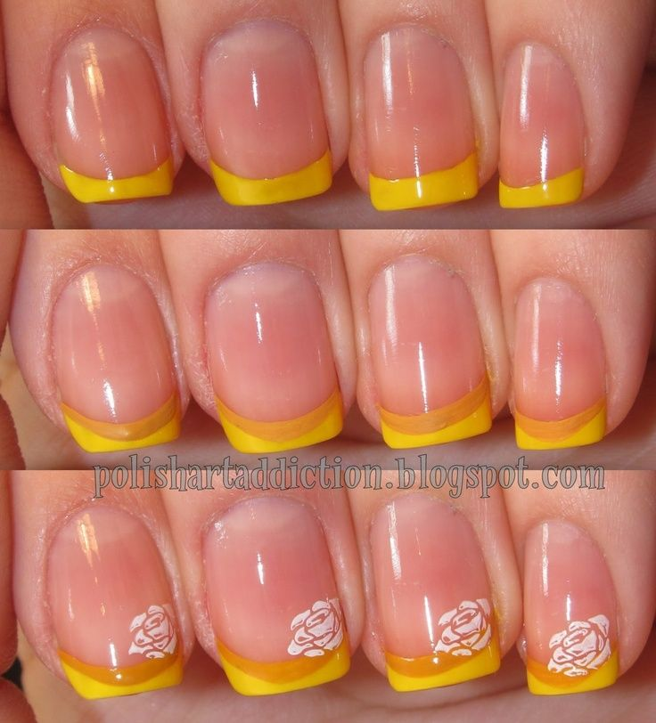 Princess Themed Nails: Beauty And The Beast Nails