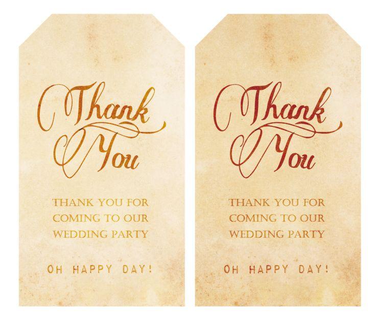 Thankyou タグ の画像|nico◡̈*blog 手作り結婚式