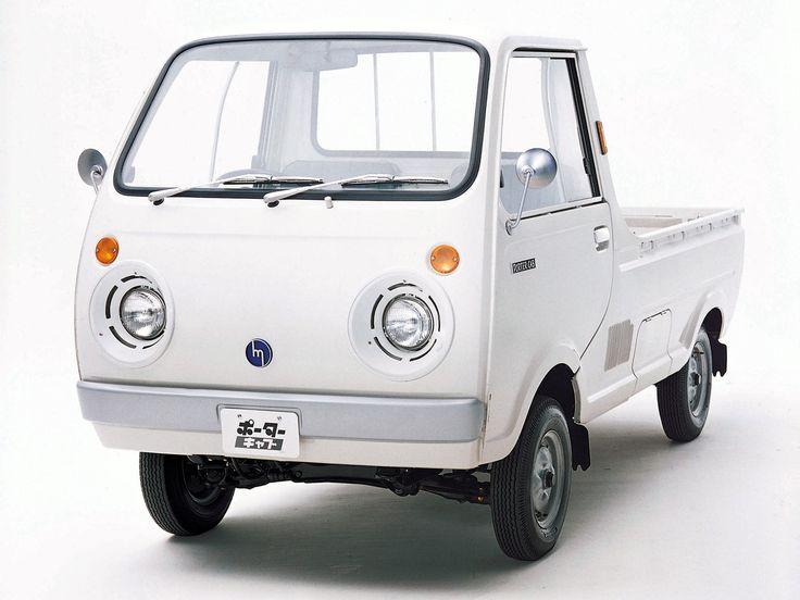 1969 Mazda Porter (with the old Mazda logo)