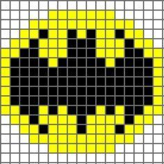 Free graph patterns for crocheting | Free Crochet Pattern Bat (Batman) Logo Chart - Crocheting Patterns ...