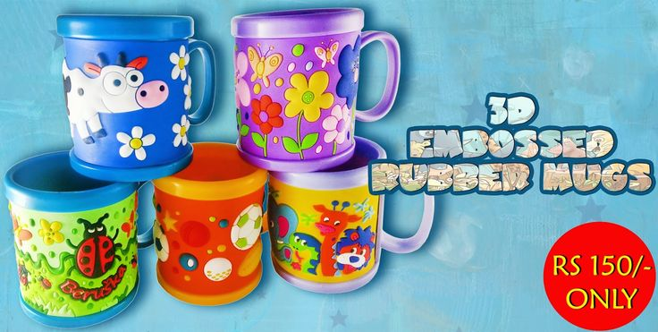 Birthday return gifts for kids|Ideas for Return gifts for Birthday party:     Silicone 3D Embossed Mugs of Food Grade Qualit...