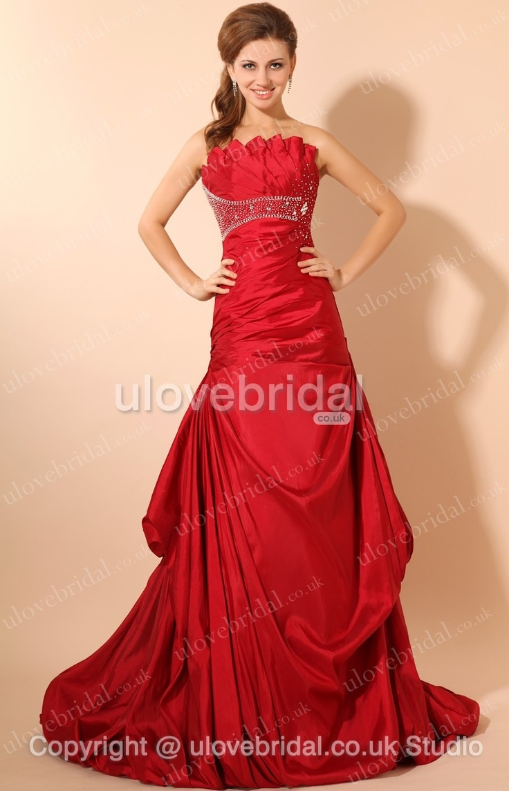 Red wedding dress my wedding inspiration pinterest for Red wedding guest dresses