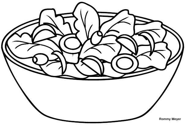 Imagenes De Ensaladas De Frutas Para Colorear Imagui Food Coloring Pages Food Drawing Food Illustrations