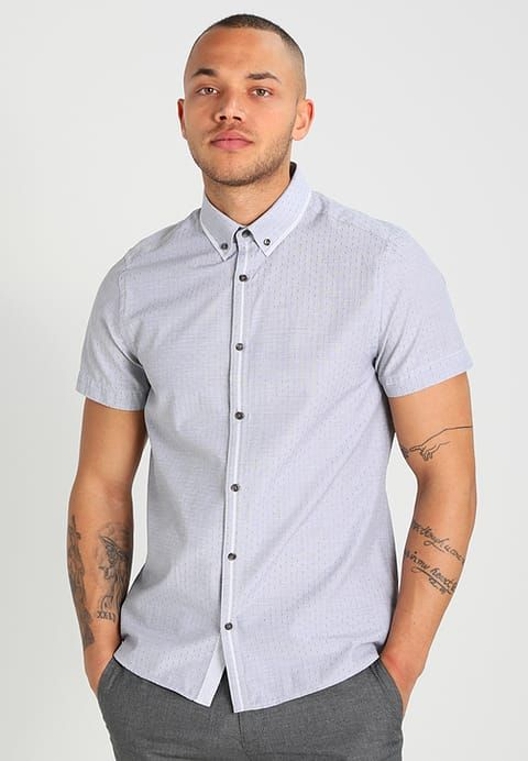 Burton Menswear London Skjorte - grey - Zalando.no