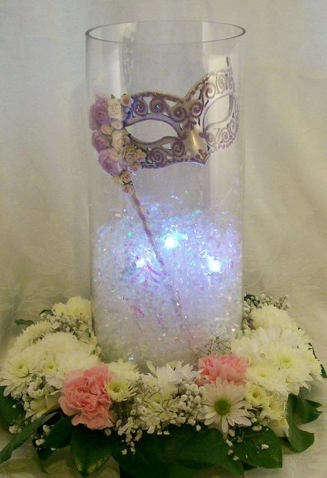 Glass Cylinder Wedding Centerpiece Ideas : Best ideas about cylinder vase centerpieces on