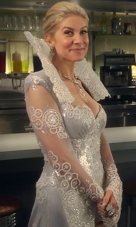Elizabeth Mitchell as The Ice Queen