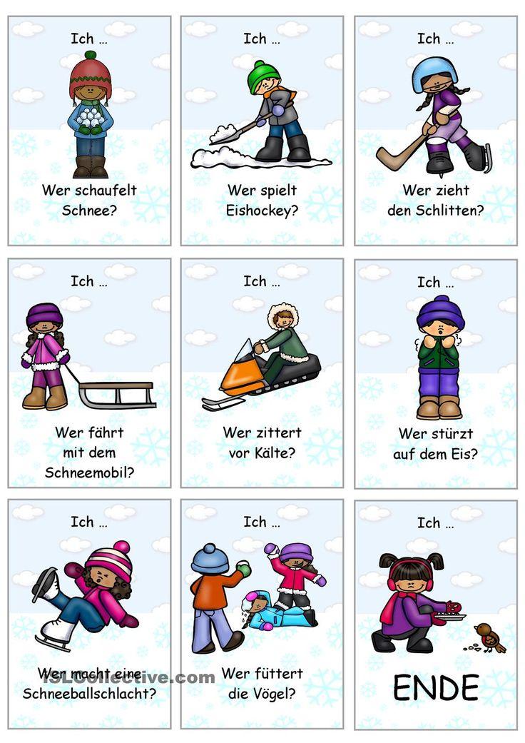 23 best Winter in der Grundschule images on Pinterest