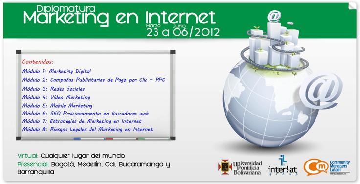 Marketing en Internet. Presencial y Virtual, 15% de dto para miembros CM Latam