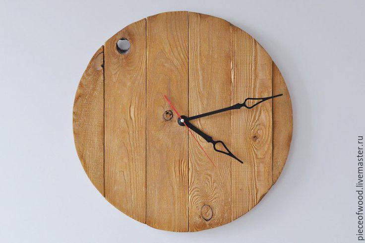 Купить Часы - комбинированный, часы, часы настенные, часы ручной работы, часы для дома