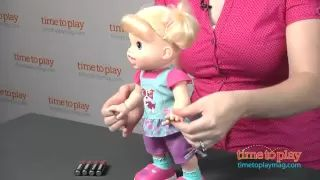 Baby Alive Baby Wanna Walk from Hasbro - YouTube