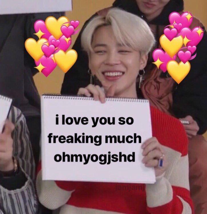 His Beautiful Mind Jinxbts Home Bts Emoji Love You Meme Cute Love Memes