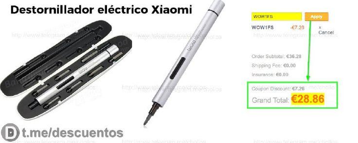 Destornillador eléctrico Xiaomi por 28 - http://ift.tt/2oQhjUQ