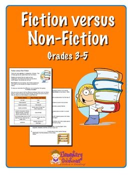 Teaching Fiction Versus Non-Fiction: Library Nonfiction, Teaching Fiction, Nonfiction Text, Student, Fiction Versus, Nonfiction Informational Text, Versus Non Fiction, Non Fiction Teaching, Kid