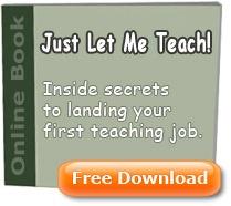 Just let me teach!