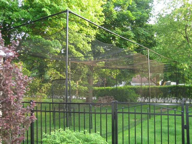 backyard batting cage another awesome backyard batting cage see